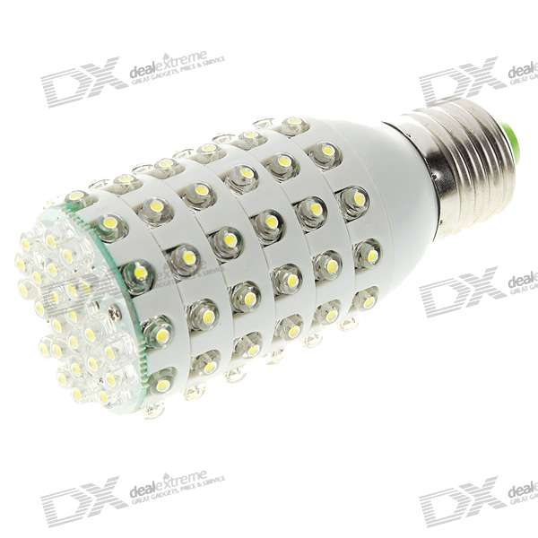 все цены на E27 4W 96-LED 672-Lumen White Light Bulb (180~240V AC) онлайн