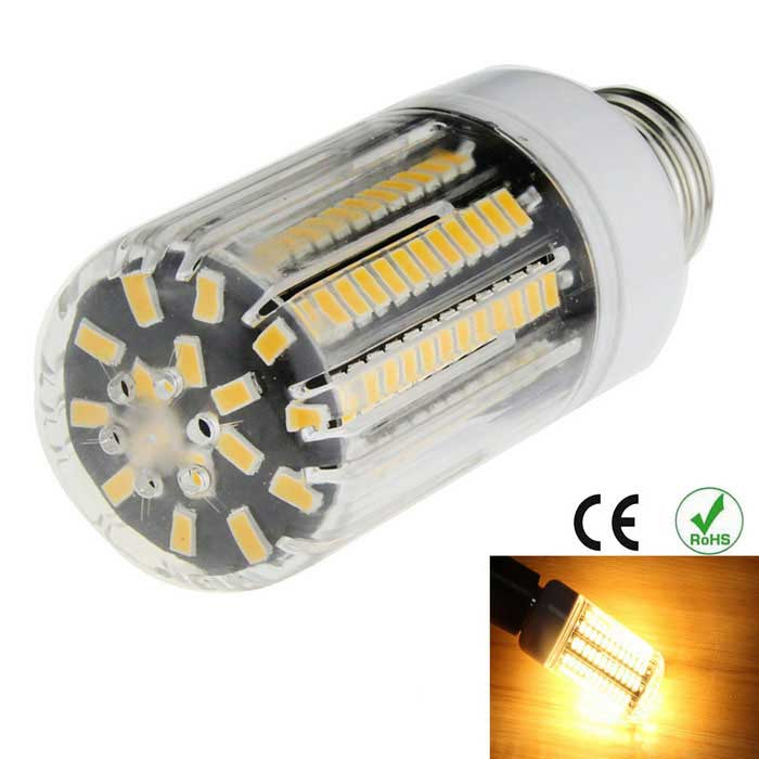 E27 12W 136-5733 SMD 1600lm 3000K Highlight LED Warm White Corn Lamp