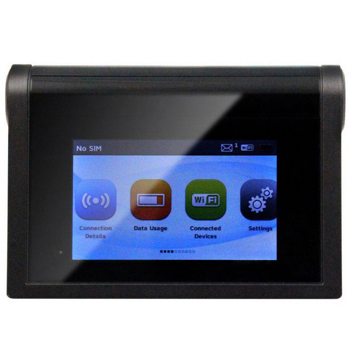 Touchscreen AT&T 4G LTE FDD Band 4/17 Wi-Fi Wireless Router - Black