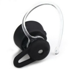 Fashion Mini Wireless Bluetooth Headset Headphone w/ Mic - Black