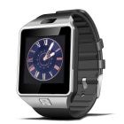 Bluetooth Smart Wrist Healthy Watch for Phone - Silver + Black