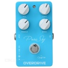 Caline CP-12 Pure Sky Overdrive Electric Guitar Effects Pedal - Sky Blue