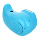 Universal Mini In-Ear Bluetooth V4.0 Earphone w/ Mic. - Blue