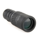 16*52 Compact Pocket Monocular Telescope Scope Camping Sports - Black
