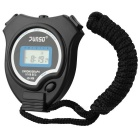 Chronograph Digital Sports Stopwatch (Black)