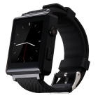 "CRERCO F5 1.54"" TFT LCD Smart Bluetooth Watch w/ SIM, TF Slot for IOS / Android Phones - Black"