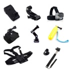 12-in-1 Accessories Kit for GoPro Hero 4 Session, SJCam, Xiaoyi