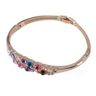 South Korean Style Crystal 18K Gold Plating Bracelet - Multicolored