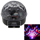Colorful LED Image Crystal Magic Ball Sound Control Stage Effect Light KTV Laser Light