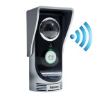 Waterproof 720P Wifi Video Door Phone Doorbell - Silver + Black