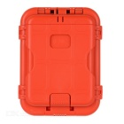EDCGEAR Multi-Function Anti-Degaussing Keys Coins Cards Holder Organizer Case / Money Clip - Orange