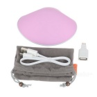 3-in-1 Shell Shape Hand Warmer & Power Bank & LED Flashlight - Pink