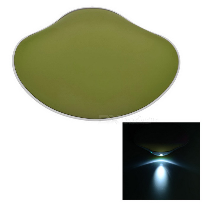 3-in-1 Shell Shape Hand Warmer & Power Bank & LED Flashlight - Green