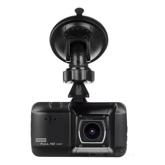 170 1080P CMOS Car DVR w/ 3.0, IR Night Vision, Mic, 12MP - BlackCar DVRs<br>Form  ColorBlackModelN/AQuantity1 DX.PCM.Model.AttributeModel.UnitMaterialAluminum alloyChipsetOthers,Novatek 96220Screen Size3-3.9Other FeaturesMotion Detection,Anti-Shake,IR Night Vision,Microphone,Loop Record,Delay ShutdownScreen Resolution:1920 x 1080 DX.PCM.Model.AttributeModel.UnitCamera Pixel11-12.9MP DX.PCM.Model.AttributeModel.UnitWide Angle170°-189° DX.PCM.Model.AttributeModel.UnitCamera Lens1Image SensorCMOSImage Sensor Size1/2.7 inchesCamera PixelOthers,12MPExternal Camera PixelNoWide AngleOthers,170Optical Zoom4XScreen TypeTFTScreen Size3.0 inchesISOOthers,100 200 400Exposure CompensationOthers,+0.0 -1/3 -2/3 -10 -4/3 -5/3 -2.0 +2.0 +5/3 +4/3 +10 +2/3 +1/3White Balance ModeAutoVideo FormatAVIDecode FormatH.264Video OutputPAL,NTSCVideo Resolution720P(1280 x 720),1080FHD(1920 x 1080),VGA(640 x 480),QVGA(320 x 240),WVGA(848 x 480),1080P(1440 x 1080)Video Frame Rate30ImagesJPEGStill Image ResolutionOthers,12M 10M 8M 5M 3M 1.3MAudio SystemStereoMicrophoneYesAuto-Power OnYesLED Qty4G-sensorYesTime StampYesBuilt-in Memory / RAMNoMax. Capacity32GBStorage ExpansionTFAV InterfaceOthers,NoData interfaceMini USBWorking Voltage   5 DX.PCM.Model.AttributeModel.UnitBattery Capacity300 DX.PCM.Model.AttributeModel.UnitWorking Time9 DX.PCM.Model.AttributeModel.UnitMenu LanguageEnglish,French,German,Italian,Spanish,Russian,Japanese,Korean,Chinese Simplified,Chinese TraditionalPacking List1 x DVR1 x Data cable(70cm)1 x Car charger(340cm)1 x Holder1 x Chinese / English user manual<br>