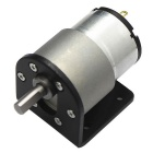 37GB-520 High Torque DC Gear Motor with Mounting Bracket (12V, 85RPM)