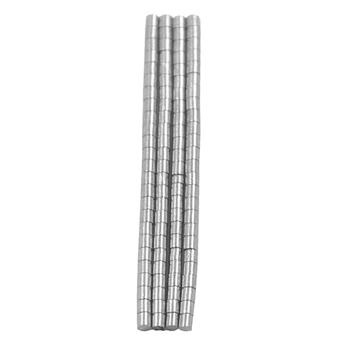 1*1mm NdFeB Neodymium Magnet Cylinder DIY Puzzle Set - Silver (100PCS)Magnets Gadgets<br>Form ColorSilverMaterialNdFeBQuantity100 PieceNumber100Suitable Age GrownupsPacking List100 x Magnet<br>