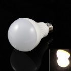 E27 7W LED Lamp Bulb Warm White Light 3000K 520lm 15-5730 SMD - White