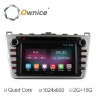 Ownice C200 2G RAM 1024*600 Quad Core Android 4.4 Car DVD Player For Mazda 6 Ruiyi 2009 - 2015 Radio