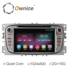 "Ownice C200 7"" 1024*600 Car DVD Player for Ford - Silver + Black"