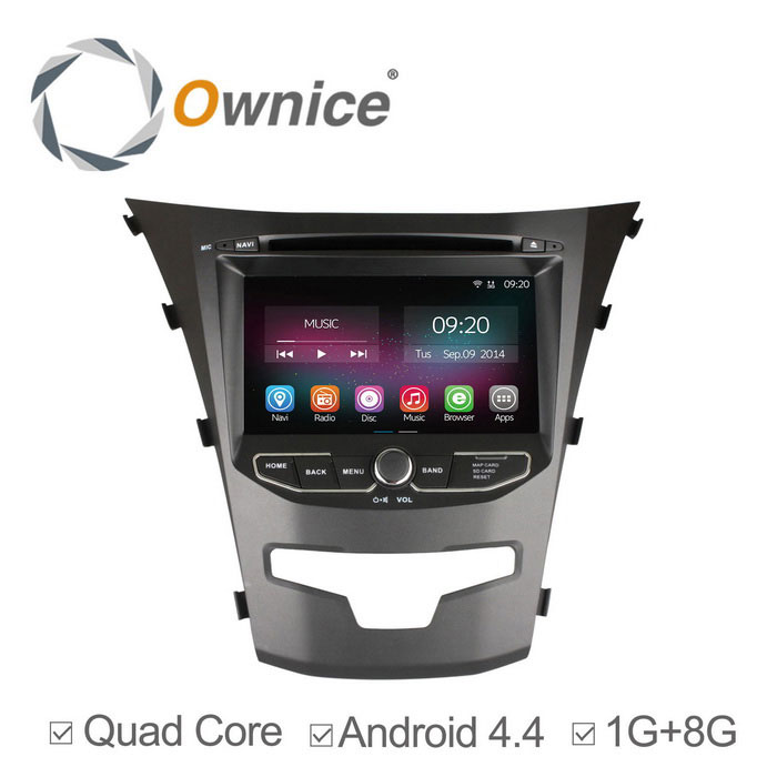 "Ownice C200 7"" 800 x 480 Car DVD Player for Ssangyong Korando"