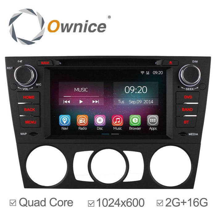 Ownice C200 2GB RAM androide 4.4 coche reproductor de DVD para BMW serie 3 + más