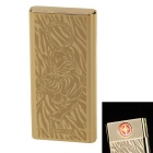 Fashion Tiger Pattern Rechargeable Electronic Lighter - Golden