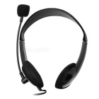 SENICC ST-401 3.5mm Wired Headband Gaming Headphone w/ Mic. - Black