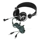 SENICC ST-818 3.5mm Wired Headband Gaming Headphone w/ Mic. - Black
