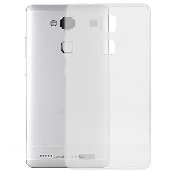 S-What Protective TPU Back Case for Huawei Mate 7 - Transparent