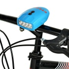 Waterproof 3-Mode 4-LED White Light Bike Headlamp w/ Belt - Blue
