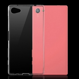 TPU Back Cover Case for Sony Xperia Z5 Compact / Z5 Mini - Transparent