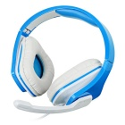 VYKON ME666 Wired USB 2.0 Headset w/ Mic. / Remote - Blue + White