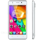"JIAKE MX5 Android 4.4.2 Dual-core Bar Phone w/ 4.5"" Screen, Wi-Fi, Wake Up Function - White + Silver"