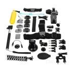 25-in-1 Monopod + Tripod + Mount Adapters Camera Mounting Accessories Kit for GoPro - Black