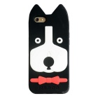 ROCS Silicon 3D Dog Protective Case for IPHONE 6S / 6 - Black