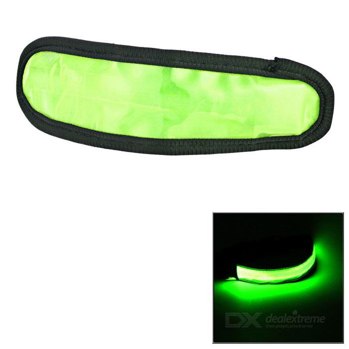 CTSmart Green Light 3-Mode LED Safety Warning Strap Arm Band - GreenBike Accessories<br>Form ColorGreen + BlackModelN/AQuantity1 DX.PCM.Model.AttributeModel.UnitMaterialNylonTypeReflective GearsGenderUnisexBest UseCycling,Bike commuting &amp; touringCertificationCEPacking List1 x Warning strap<br>