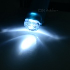 2-Mode LED Bike Silicone Headlamp Flashlight Neutral White - Blue
