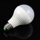 E27 9W 18-5730 SMD LED 6500K Cold White Light Lamp Bulb (AC 85~265V)