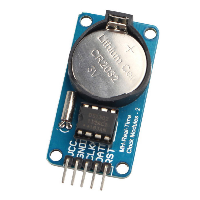 Rtc ds real time clock module for arduino avr arm pic