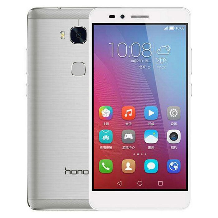 "Huawei HONOR PLAY 5X 5.5""Android 4G Phone w/ 3GB RAM, 16GB ROM -Silver"