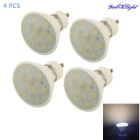 YouOKLight GU10 5W 10-SMD Warm White Light Ceramic Spot Light (4PCS)