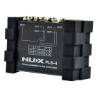 NUX PLS-4 1-in-4out/ 4-in-1-out Four Channels Line Switcher