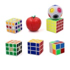 Collector's Edition 7-in-1 2 x 2 x 2 Magic IQ Cube Toy Set - Multi-Color