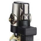 Compact 1300-C Butane Jet Lighter - Black + Transparant