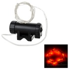 Leadbike 2-Mode 20-LED Red Bike Wheel Spoke Light - Black + Silver