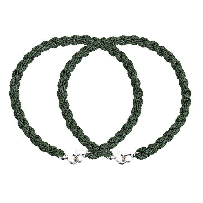EDCGEAR Bike Pants Tied Band Leg Bind Rope Ring - Army Green (2PCS)