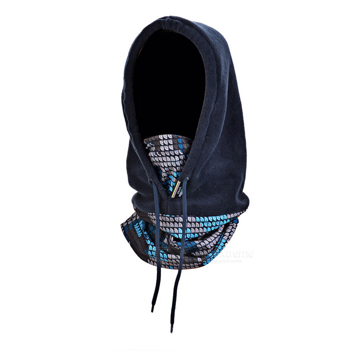 SAHOO Autumn / Winter Cycling Masked Cap / Skiing Cap - Blue+Black