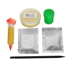 Kaisi K-4105 DIY Lead-Free Tin Solder Paste Soldering Flux Paste - Yellow + Red