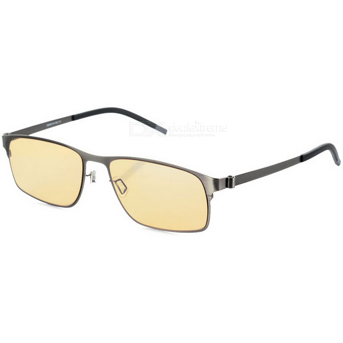 MOBIKE Men's Anti-Radiation Protective Glasses - Brown + Yellow