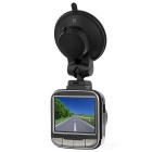 "140' CMOS Car DVR w/ 2.0"", IR Night Vision, Dual Cameras, HDMI - Black"